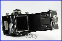 Rollei Rolleiflex 3.5F TLR Twin Lens Reflex Camera with75mm f3.5 Zeiss Planar #829