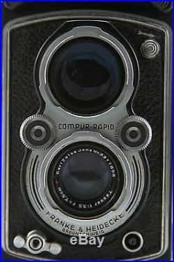 Rollei Rolleiflex Automat II, vintage 6x6 camera, lens Zeiss Tessar 3.5/75mm