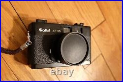 Rollei XF 35 Vintage 35mm Point & Shoot Film Camera with 40mm f/2.3 Sonnar lens