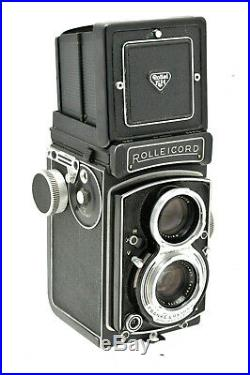 Rolleicord Vb TLR Camera Schneider Kreuznach Xenar F3.5 75mm Lens Cased