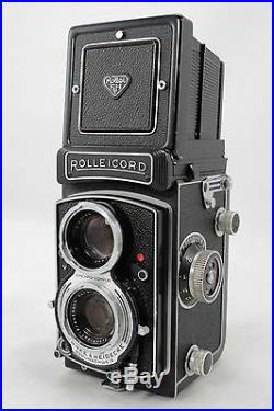 Rolleicord Vb, vintage 6x6 TLR camera, lens Schneider Xenar 3,5/75mm