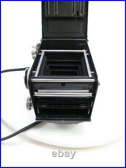 Rolleiflex 2.8 E Twin Lens Reflex with Zeiss Planar 80MM F2.8 Lens, # 1660724