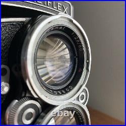 Rolleiflex 2.8C TLR Film Camera Schneider-Kreuznach Xenotar 12.8/80 with Lens Cap