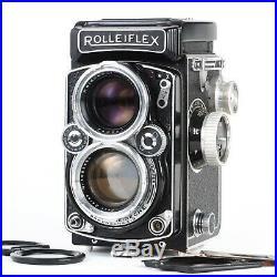 Rolleiflex 2.8D 6x6 120 TLR Camera with Planar 80mm f2.8 Lens & Rolleikin EX+++