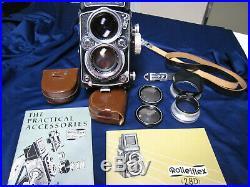 Rolleiflex 2.8D Planar Medium Format Twin Lens Reflex Camera