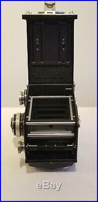 Rolleiflex 2.8E 6x6 TLR Camera With Xenotar 80mm F2.8 Lens Near Mint