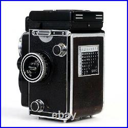 Rolleiflex 2.8E E2 6x6 120 TLR Camera with Zeiss Planar 80mm f2.8 Lens READ
