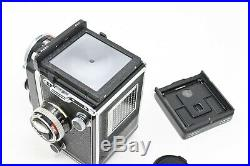 Rolleiflex 2.8E E2 with 80mm Planar 2.8/80 + Case +Lens hood+Manuals+More