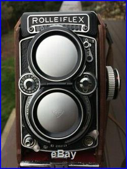 Rolleiflex 2.8E2 1959 Camera & Case with Lense Caps and Removable Finder