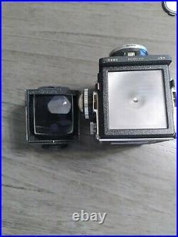 Rolleiflex 2.8F TLR Camera Carl Zeiss Planar Lens 2.8/80mm