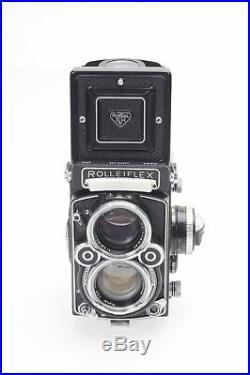 Rolleiflex 2.8F TLR Twin Lens Reflex Camera withZeiss Planar 80 f/2.8-F #577