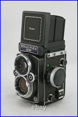 Rolleiflex 2,8GX Expression, vintage TLR camera, lens Rollei HFT Planar 2,8/80mm