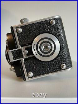 Rolleiflex 3.5 B MX-EVS Schneider Kreuznach Xenar 1/3.5 75mm Lens with Lens Cap