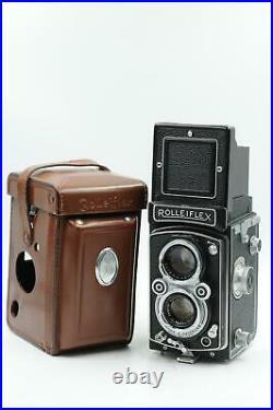 Rolleiflex 3.5A TLR Medium Format Camera with75mm f3.5 Xenar Lens #100