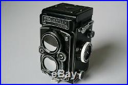 Rolleiflex 3.5E2 camera with Xenotar 75mm f3.5 taking lens, Serial No E2 1871409