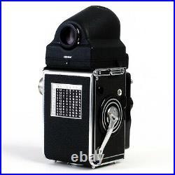 Rolleiflex 3.5F 6x6 120 TLR Camera Zeiss Planar 75mm f3.5 Lens & Prism EX++++