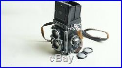 Rolleiflex 3.5F Twin Lens Medium Format with Planar lens 3.5/75