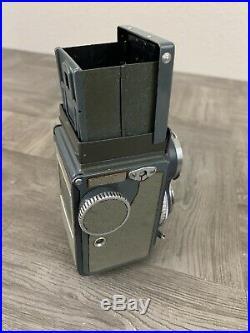 Rolleiflex Franke Heidecke camera Heidosmat 12.8/60 lens DBP 2013943 Germany