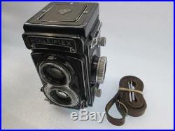 Rolleiflex Model T 3.5T f/3.5 Tessar 75mm TLR Film Camera Carl Zeiss Lens