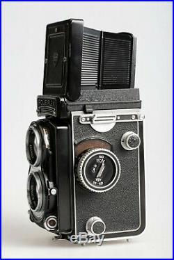Rolleiflex T TLR Camera Carl Zeiss 75mm f/3.5 Lens Model 1