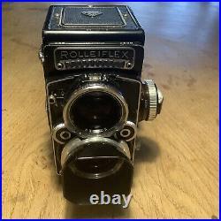 Rolleiflex TLR 2.8f Twin Lens Reflex Camera