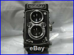 Rolleiflex TLR camera with Zeiss Opton 75 mm f 3.5 lens. No. 1416072