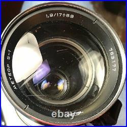 Soviet Camera KRASNOGORSK 3 Movie Vintage Meteor 5-1 Lens Film Original Zenit SU