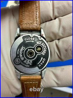 Steinbeck Watch Camera 1949 With rare close up lenses, box, instructions + more