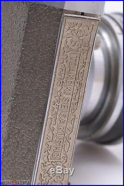 TAOKOKI SEISAKUSHO GELTO DIII GOLD 3x4CM RARE CAMERA GRIMMEL 50MM 3.5 LENS