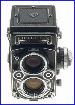 TLR ROLLEIFLEX 3.5F MEDIUM FORMAT CAMERA ZEISS 3.5/75 PLANAR 3.5 f=75mm LENS