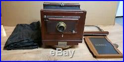 The Blair Tourograph Dry Plate company BOSTON Mass camera J H Dallmeyer Lens