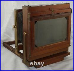 The Eastman Dry Plate & Film Co. 5x8 Interchangeable View Camera with Brass Lens