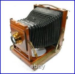 Thornton Pickard Triple Imperial Half Plate Mahogany Brass Camera VGC Wray Lens