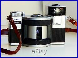 VERY RARE Gorizont Horizont vintage Soviet Panoramic 35 mm film camera withs lens