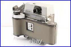 VINTAGE MAMIYA PRESS Film Camera + SEKOR 90mm f3.5 Lens 6x9 Roll Film Back Japan