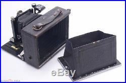 VOIGTLANDER AVUS SCARCE HORIZONTAL MODEL 9x12CM CAMERA With 12CM DYNAR 5.5 LENS