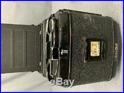 VTG Mamiya Professional RB67 Medium Film Camera withLens & accessories Untested