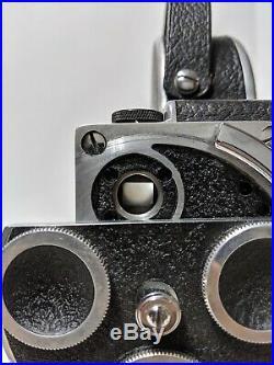 Vintage 1950s Bolex Pillard H16 Movie Film Camera Yvar Switar lens Extras