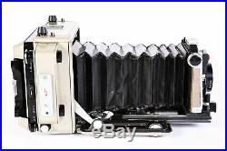 Vintage 2x3 Linhof Technika Camera With Nikkor 105mm F/3.5 Lens BG