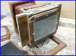 Vintage 5x7 Keith Wet Plate (Collodion) Camera with Taylor Hobson Cooke Lens