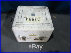 Vintage 70mm Hulcher 102 Military Surplus Film Camera with 500mm Schneider Lens