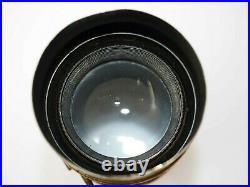 Vintage Brass Lens with Focusing for Large Format Folding Cameras