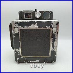 Vintage Busch Pressman Model D 4x5 Large Format Press Camera 135mm F4.7 Lens