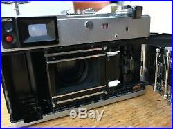 Vintage Canon Canonet QL17 GIII G3 35mm Rangefinder Film Camera withf1.7 Lens