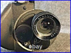 Vintage Collectible Cineflex 35mm Cine Camera, with Motor, Magazine, & Lens