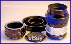 Vintage Collectors Nikon f3.5 55mm Macro Lens