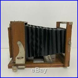 Vintage Eastman View Camera No 33A 5 X 8 Bausch & Lomb Tessar Series 1c Lens