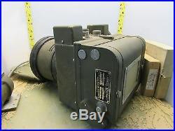 Vintage Graflex K-21 aircraft camera with 7 kodak aero-ektar lens 12-E