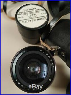 Vintage Kiev 88 6 x 6 cm TTL Medium format Camera with many lens and extras