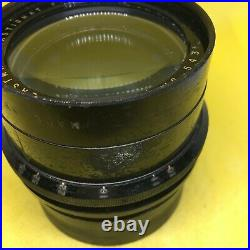 Vintage Kodak EKTAR large format camera lens in barrel